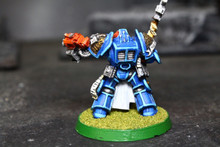 Grey Knight Brother Captain Lot 8076 Blue Table Painting Store