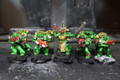 Dark Angel Tactical Marines Lot 8286 Blue Table Painting Store