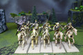 Tomb Kings Skeleton Cavalry Lot 8351 Blue Table Painting Store