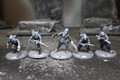 Dust Axis Ubertoten Assault Squad Lot 8450 Blue Table Painting Store