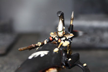 Eldar Farseer on Jetbike Lot 8520 Blue Table Painting Store