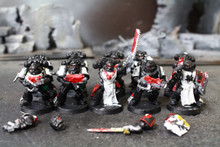 Black Templar Tactical Marines Lot 8754 Blue Table Painting Store