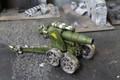 Imperial Guard Death Korps of Krieg Medusa Siege Gun Lot 8789 Blue Table Painting Store