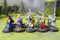 LOTR Wood Elf Warriors Lot 9069 Blue Table Painting Store