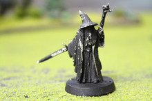 LOTR Gandalf Lot 9079 Blue Table Painting Store