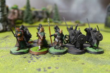 LOTR Warriors of Rohan Lot 9225 Blue Table Painting Store
