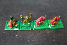 Epic Chaos Beasts Lot 9373 Blue Table Painting Store
