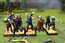 Vampire Counts Zombies Lot 9629 Blue Table Painting Store