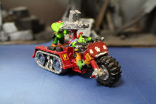 Ork Wartrakk Lot 9742 Blue Table Painting Store