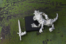 Warriors of Chaos Dragon Ogre Lot 9765 Blue Table Painting Store