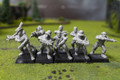 Empire Crossbowmen Lot 9770 Blue Table Painting Store
