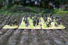 German Rifle Teams Lot 10984 Blue Table Painting Store