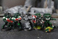 Dark Angel Tactical Marines Lot 11008 Blue Table Painting Store