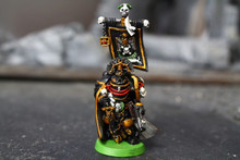 Space Marine Captain Sicarius Lot 11046 Blue Table Painting Store