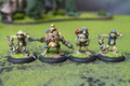 Cygnar Field Mechaniks Lot 11080 Blue Table Painting Store