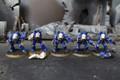 Space Marine Terminators Lot 11145 Blue Table Painting Store