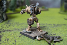 Confrontation Wolfen Wolfen with Crossbow Lot 11209 Blue Table Painting Store