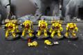 Space Marine Terminators Lot 11613 Blue Table Painting Store
