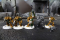 Dark Angel Deathwing Terminators Lot 11623 Blue Table Painting Store