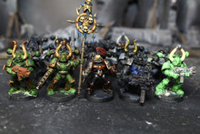 Chaos Space Marine Chaos Marines Lot 11847 Blue Table Painting Store