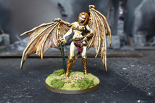 Reaper Sophie Succubus 72mm Lot 11893 Blue Table Painting Store