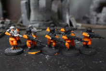 Imperial Guard Cadian Shock Troops Lot 12012 Blue Table Painting Store