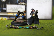 Cygnar Lieutenant Allister Caine Lot 12125 Blue Table Painting Store