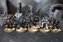 Space Marine Terminators Lot 12174 Blue Table Painting Store