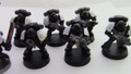 Black Templars Space Marines x10 Lot 15066