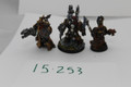 Chaos Space Marine Heroes x3 Lot 15253