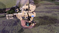 Tau Battlesuit painted in Bone Lot 15283