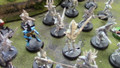 Dark Eldar Warriors x 42 with characters Vintage Lot 15289