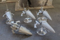 Eldar Jetbikes no riders x5 (old type) Lot 15453