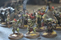 Bonesplitterz Savage Orruks painted army x64 models Lot 15465