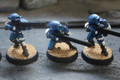 Tau Fire Warriors unbased painted x6 Lot 15478 Shadow War Kill Team