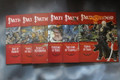 Curse of the Crimson Throne adventure path Paizo x6 books Lot 15511