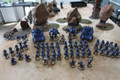 Ultramarines Army (space marines) painted Lot 15551