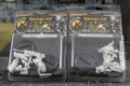 Warmachine Mercenaries Hammerfall High Shield Officer and Standard x2  Lot 1295