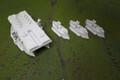 Dystopian Wars British Fleet  Lot 3010