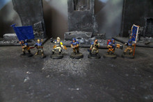 Imperial Guard Cadian Command Squad Lot 5376 Blue Table Painting Store