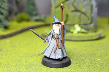 LOTR Gandalf Lot 5539 Blue Table Painting Store