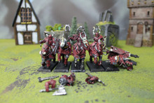 Warriors of Chaos Chaos Knights Lot 5732 Blue Table Painting Store