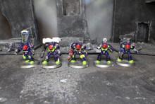 Space Marine Terminators Lot 5858 Blue Table Painting Store