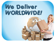 We Deliver WORLDWIDE!