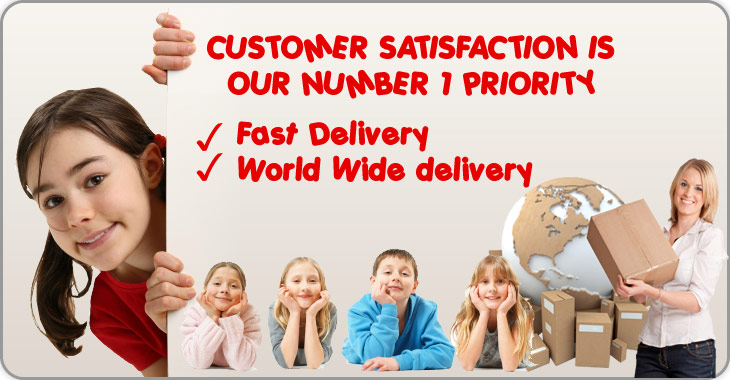 CUSTOMER SATISFACTION IS OUR NUMBER 1 PRIORITY