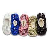 Shimmy's Sequin Slippers