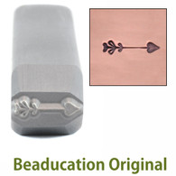 Beaducation Heart Arrow Design Stamp Medium 8.75x2.75mm