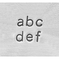 IMPRESSART - Basic Economy Lowercase Metal Stamp Set  1.5mm