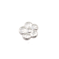 Sterling Silver Solderable Accent  - Pansy 24g
