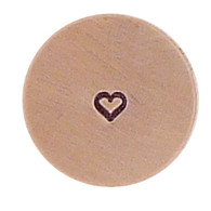 The Urban Beader - Outline Heart Design Stamp  - 1.5mm